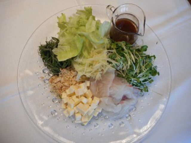 画像4: チーズ入り中華風サラダ