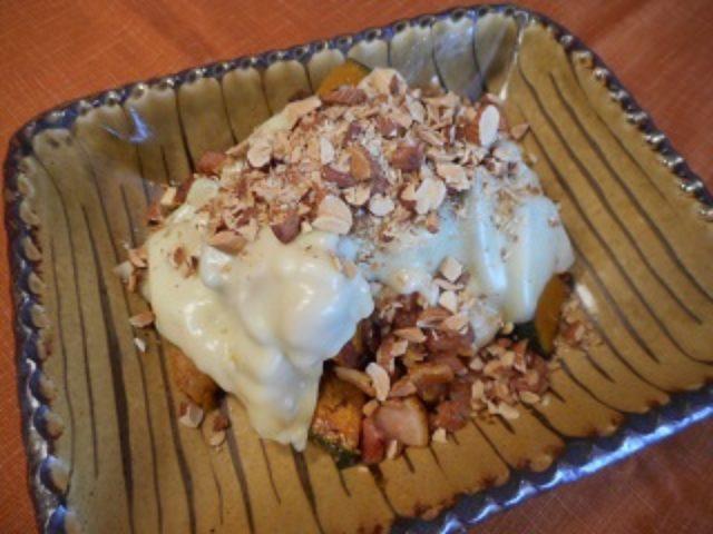 画像5: かぼちゃとチーズのアーモンド焼き