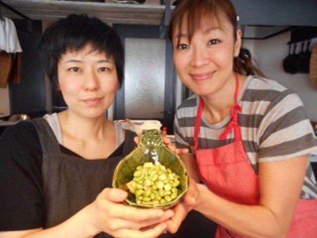 画像5: 枝豆とチーズの一味和え