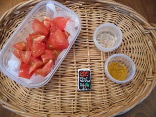 画像1: トマトとチーズのカレーマリネ