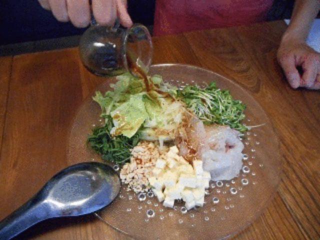 画像5: チーズ入り中華風サラダ