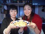 画像8: じゃがいも と イカの塩辛 と チーズ の お好み焼き