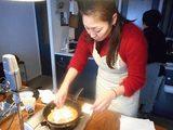 画像6: じゃがいも と イカの塩辛 と チーズ の お好み焼き
