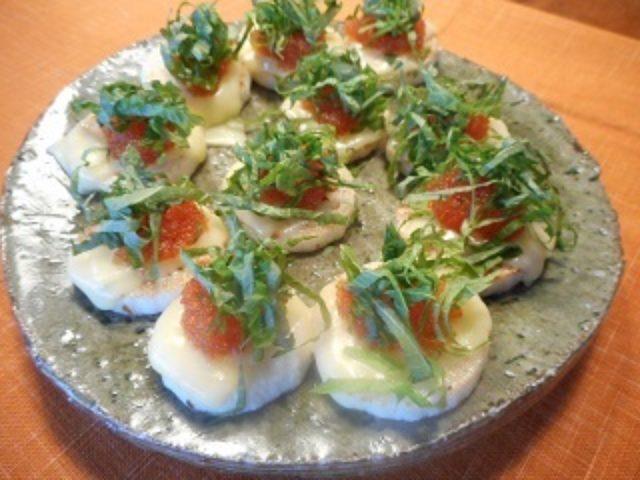 画像6: 長芋のソテー とびこチーズのせ