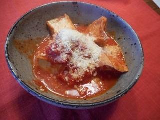 画像4: 厚揚げのトマト煮チーズかけ