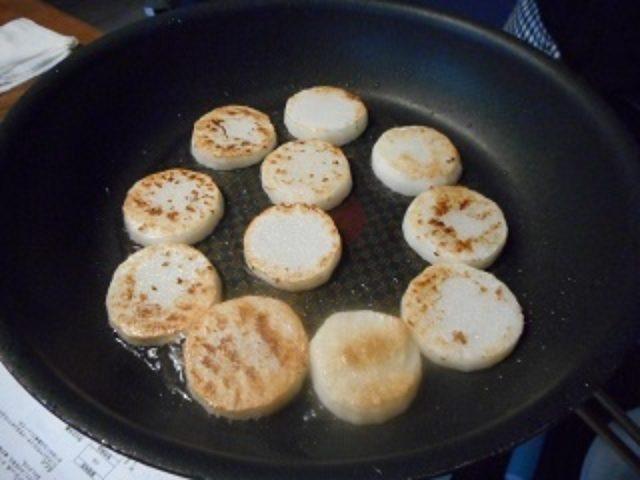 画像3: 長芋のソテー とびこチーズのせ