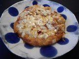 画像7: じゃがいも と イカの塩辛 と チーズ の お好み焼き