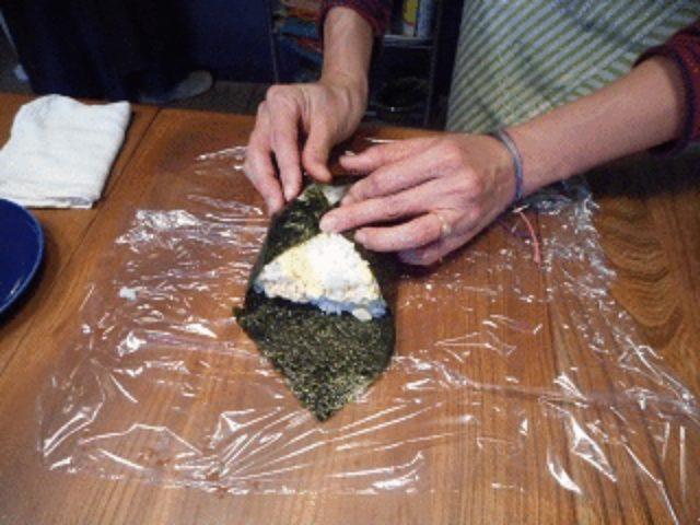 画像7: ツナとゆず胡椒マヨとチーズのおにぎらず