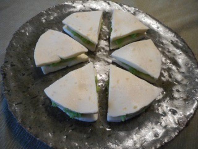 画像4: 簡単ずんだチーズサンド