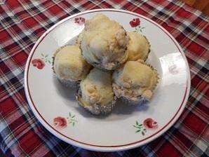 画像6: リンゴ風味の蒸しパン