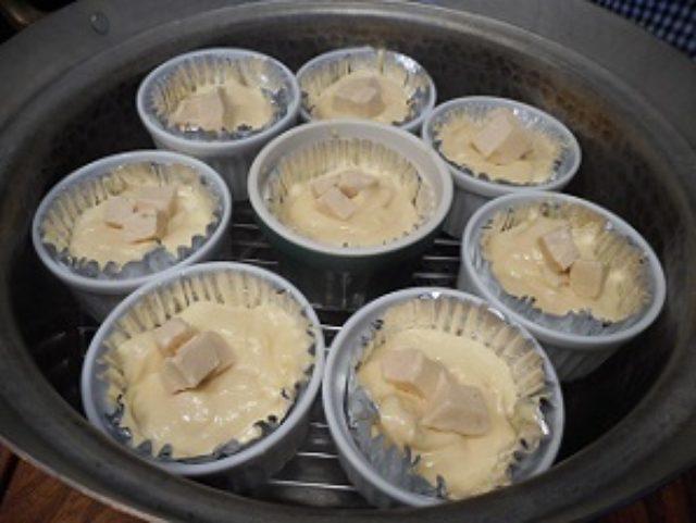 画像5: リンゴ風味の蒸しパン