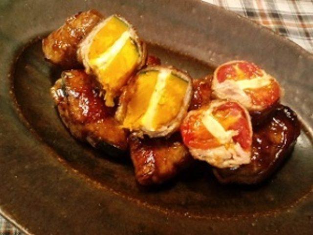 画像12: 野菜とチーズの肉巻