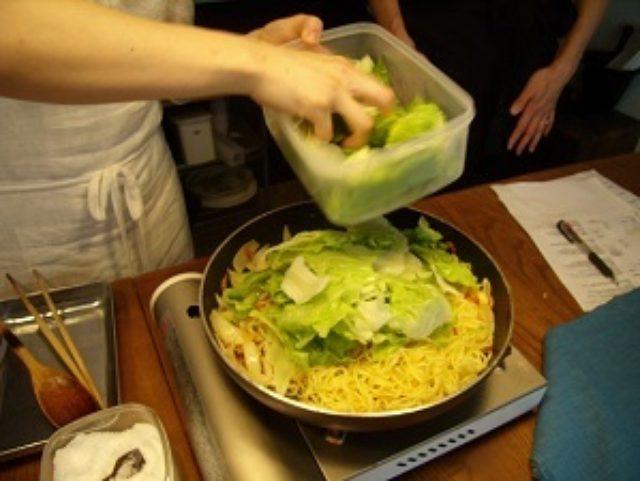 画像5: 桜海老とレタスの塩焼そば チーズ入り