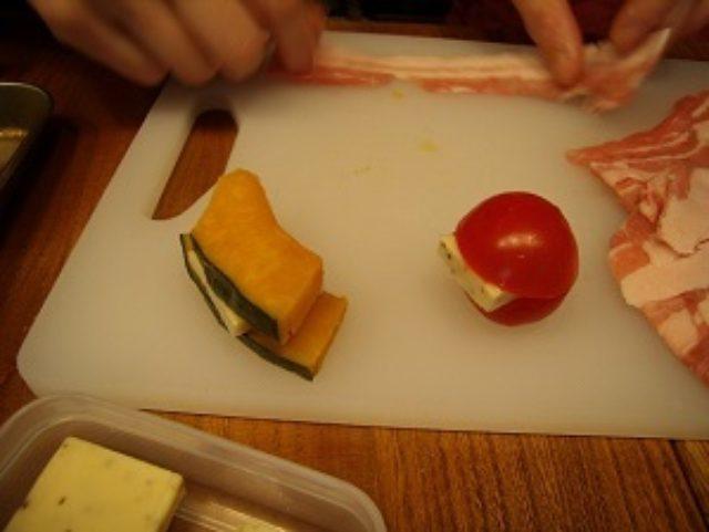 画像2: 野菜とチーズの肉巻