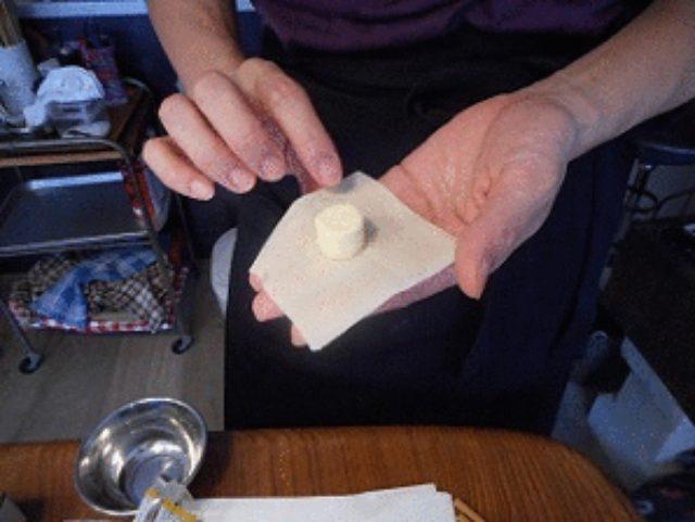 画像4: 干し海老とザーサイの酸辣湯 チーズワンタン入り