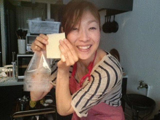 画像5: 昭和の愛すべき2アイテムが合体! ポテサラハムカツ チーズ乗せ