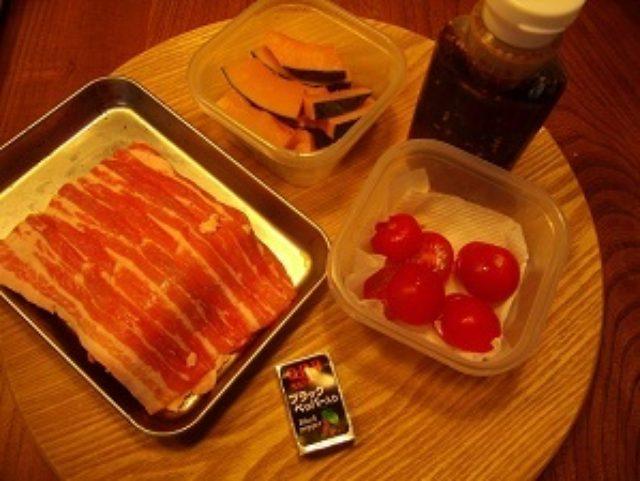 画像1: 野菜とチーズの肉巻