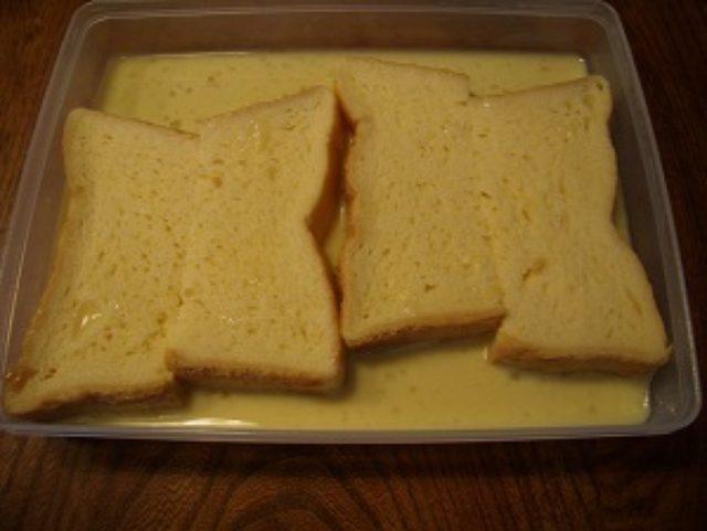 画像2: フレンチトースト ラムレーズンクリーム添え