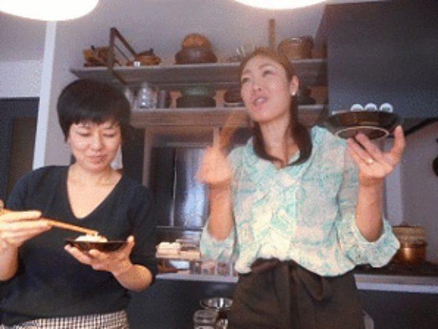 画像5: あさりとチーズの蒸し寿司風