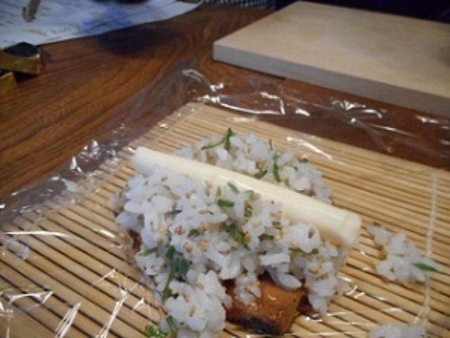 画像5: 秋刀魚のかば焼きとチーズ寿司