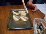 画像3: オイルサーディーンとじゃがいもとスモークチーズのパン粉焼き
