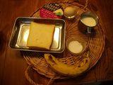 画像1: フレンチトースト ラムレーズンクリーム添え