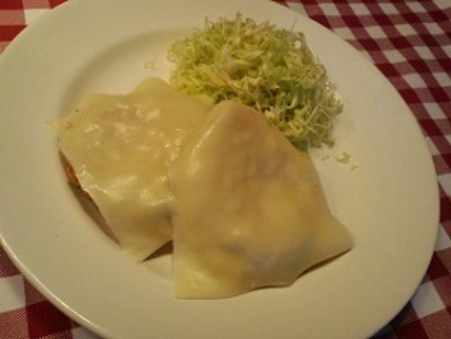 画像6: 昭和の愛すべき2アイテムが合体! ポテサラハムカツ チーズ乗せ