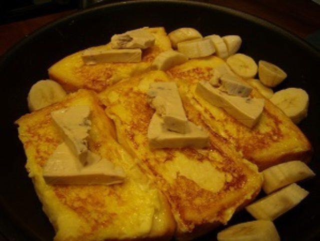 画像5: フレンチトースト ラムレーズンクリーム添え