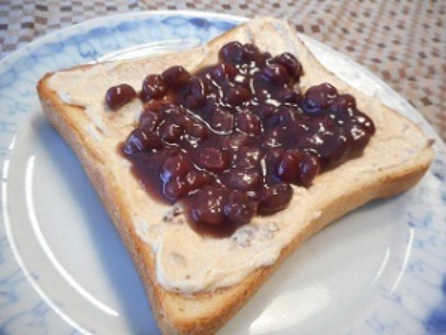 画像4: あんこラムレーズンチーズトースト