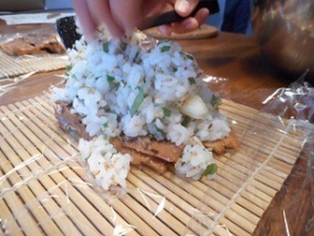 画像6: 秋刀魚のかば焼きとチーズ寿司