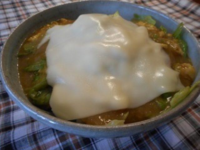 画像8: すりおろしジャガイモのチーズカレー丼