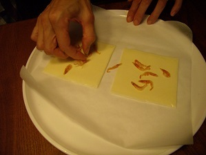 画像3: カリカリチーズせんべい!!