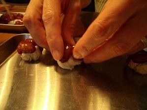 画像8: 和菓子だって5分だ!ラムレーズンかのこ