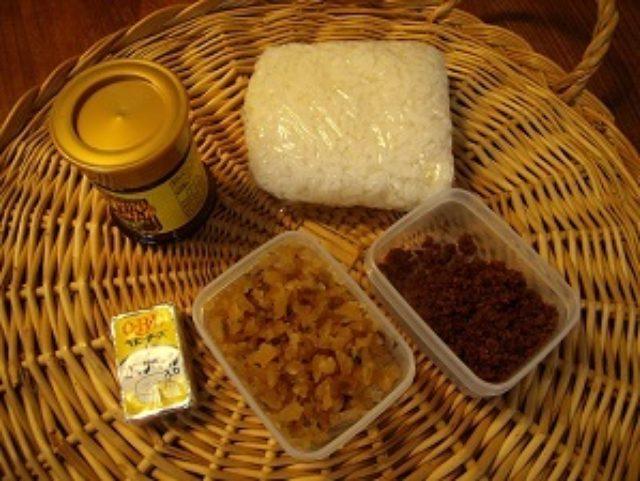 画像1: 残り物に福(福神漬け)あり!カレー風味のチーズそぼろおにぎり