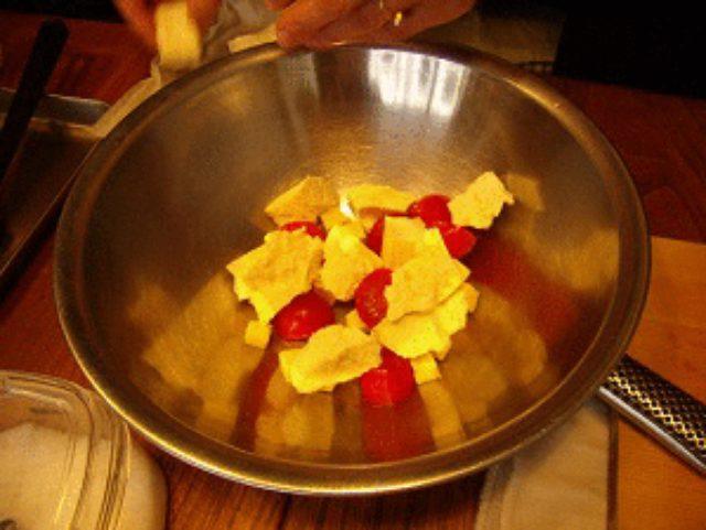 画像4: カリカリじゃこと豆腐とチーズの和えサラダ