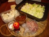 画像1: 白菜麻婆チーズ丼