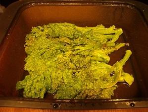 画像3: ほろ苦とチーズが絶妙!菜の花のレンジ蒸しチーズ乗せ