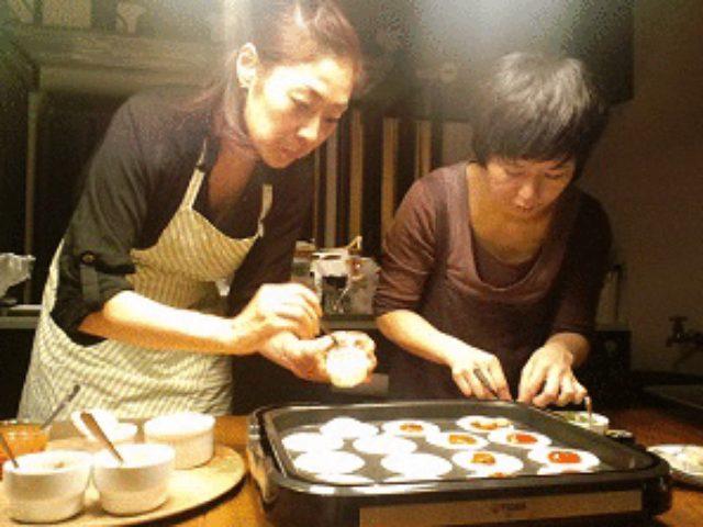 画像2: 餃子の皮でピザ!!