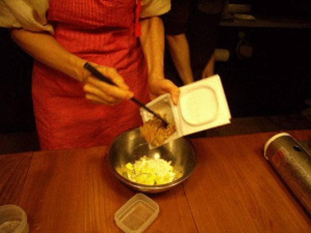 画像1: 納豆かき揚げ