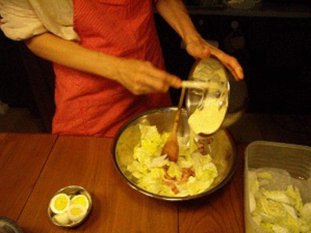 画像4: 白菜のシーザーサラダ!!