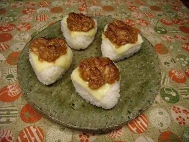 画像3: 生姜ツナ味噌のチーズ焼きおにぎり!!