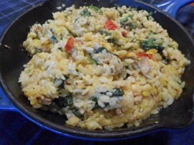 画像5: パエリア風チーズ入り 炊き込みご飯