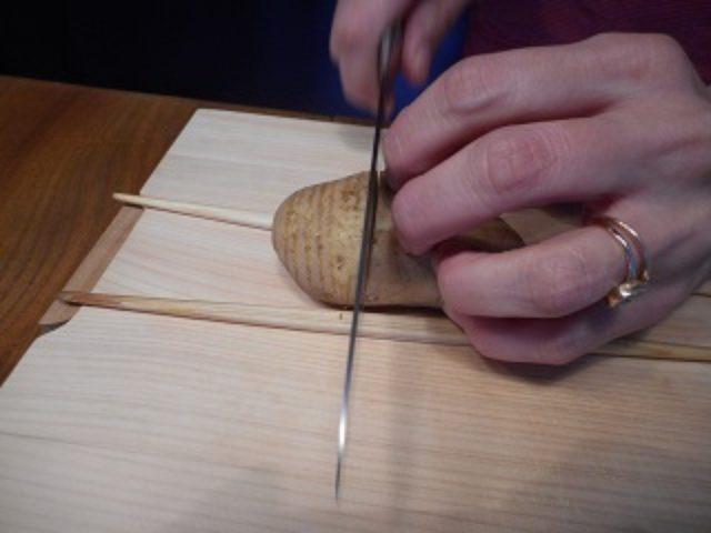 画像2: ハッセルバックポテト いろいろチーズのせ