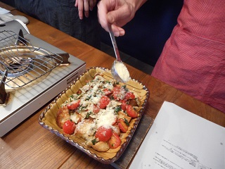 画像6: チーズ入りご馳走ガーリックトースト