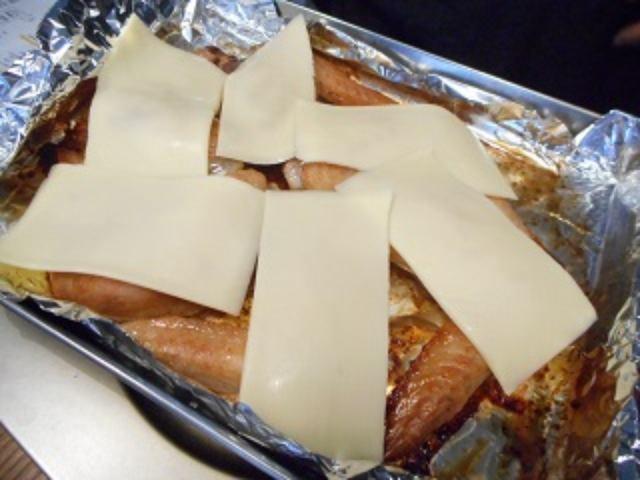 画像2: 手羽先の柚子胡椒焼き チーズのせ