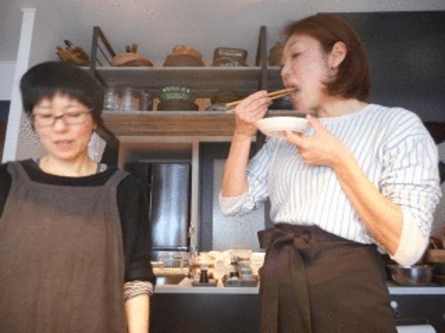 画像8: 春菊とおでんのお好み焼き