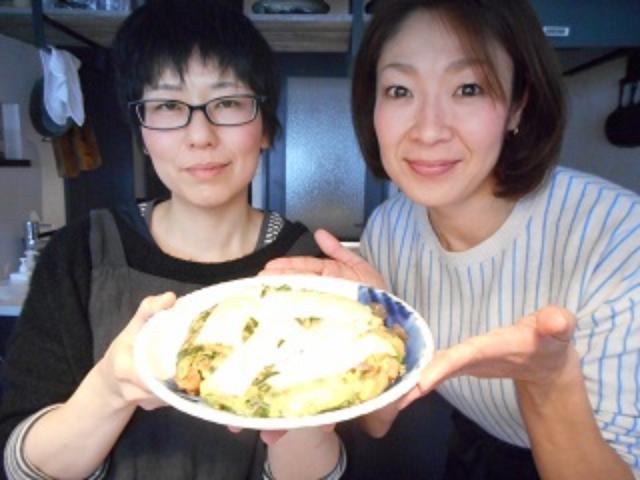 画像9: 春菊とおでんのお好み焼き