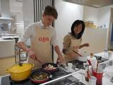 画像: Q・B・Bさんチームも参加!スイスから日本にステイ中のマイケルさん。
