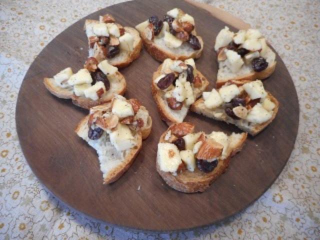 画像6: パルメザンとナッツのはちみつカナッペ