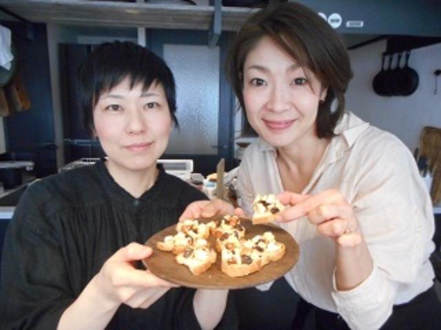 画像8: パルメザンとナッツのはちみつカナッペ